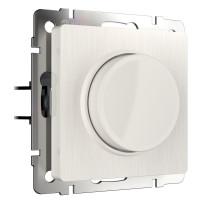 W1142013/ Электроустановочные изделия - Диммер (перламутровый рифленый)