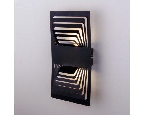 Заказать Бра Elektrostandard Onda LED чёрный (MRL LED 1025)| VIVID-LIGHT.RU