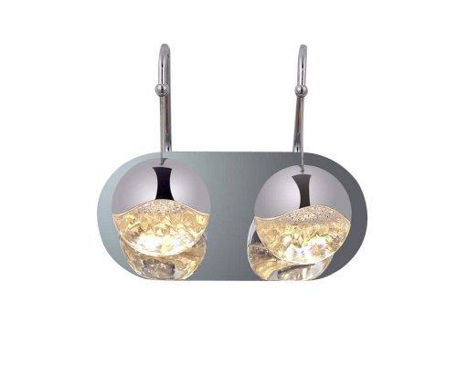 Оформить заказ Бра DeLight Collection SD3301-2C nickel  VIVID-LIGHT.RU