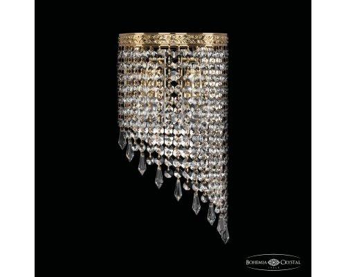 Оформить заказ Бра Bohemia Ivele Crystal 83401BR/18IV-34 G Drops  VIVID-LIGHT.RU