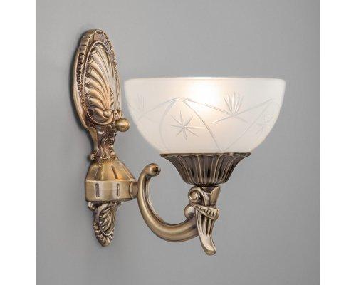 Оформить заказ Бра Eurosvet 60006/1 античная бронза  VIVID-LIGHT.RU