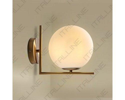 Купить Бра ITALLINE Bolla AP 6212/200 brass| VIVID-LIGHT.RU