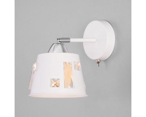 Купить Бра Eurosvet 70105/1 белый  VIVID-LIGHT.RU