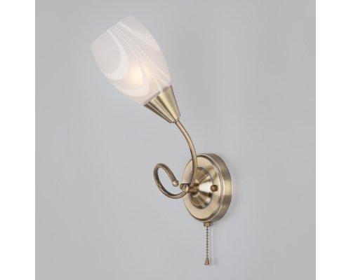 Купить Бра Eurosvet 30275/1 античная бронза| VIVID-LIGHT.RU