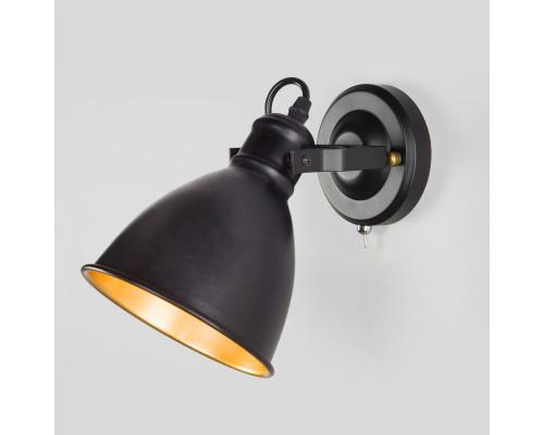 Купить Бра Eurosvet 70112/1 черный| VIVID-LIGHT.RU