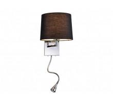 Бра Newport 14102/A LED black с выкл