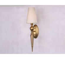 Бра Newport 7801/A brass matt без абажуров