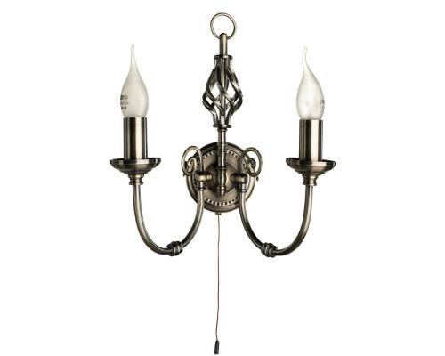 Купить Бра ARTE Lamp A8392AP-2AB  VIVID-LIGHT.RU