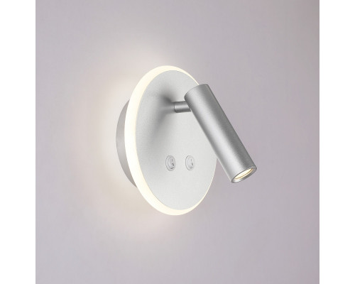 Заказать Бра Elektrostandard Tera LED серебро (MRL LED 1014)  VIVID-LIGHT.RU