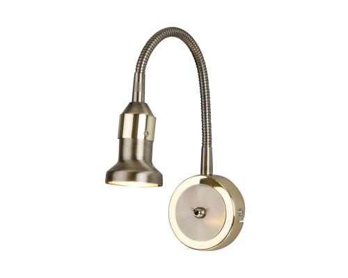 Оформить заказ Светильник для картин Elektrostandard Plica 1215 бронза / золото| VIVID-LIGHT.RU