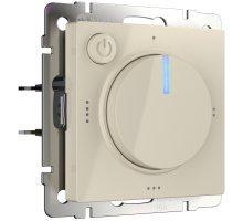 W1151103/ Электроустановочные изделия - Терморегулятор электромеханический для теплого пола (слоновая кость)